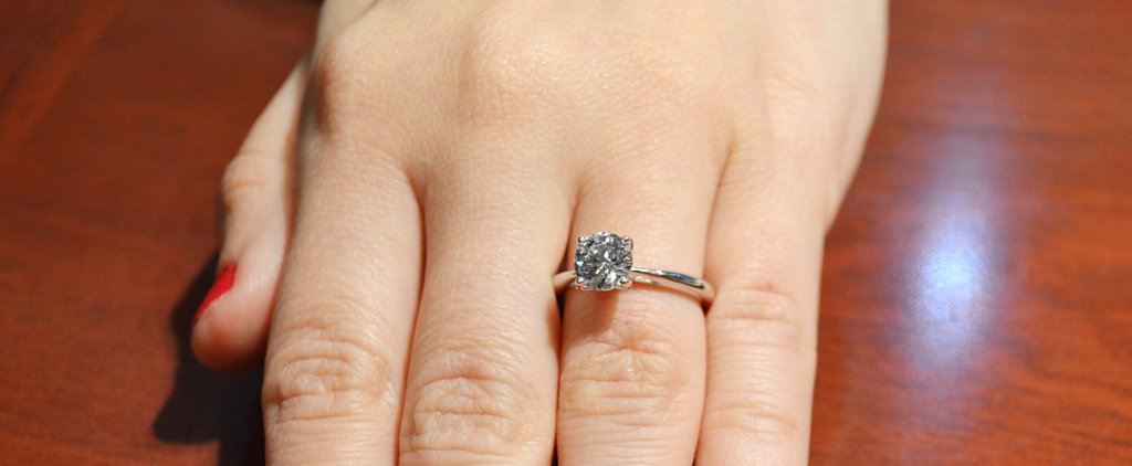 POPSUGAR Shout Out: Find the Right Diamond Size For Your Ring Finger!