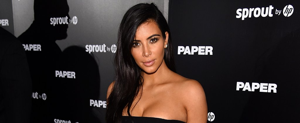 Kim Kardashian Is Almost Unrecognizable on the Cover of Love Magazine