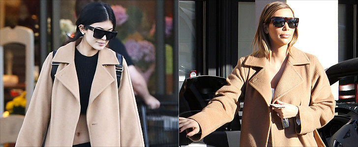 Kylie Jenner Has Been Shopping in Kim Kardashian's Closet