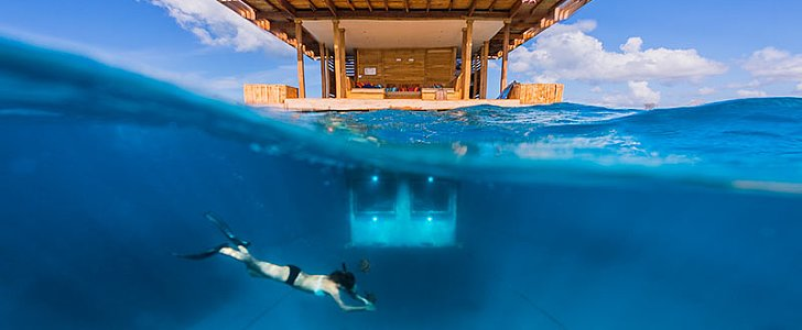 This Floating Hotel With an Underwater Room Is the Ultimate Definition of Paradise