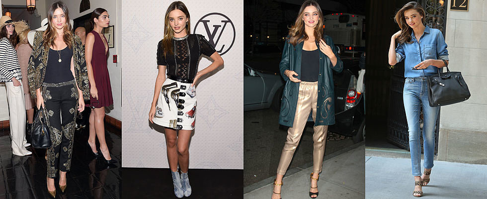 Miranda Kerr's Style in 2014 Was on Point