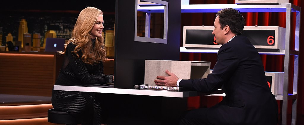 Jimmy Fallon Brings Out Nicole Kidman's Ridiculous Side For Box of Lies