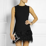 The Best Feather-Trimmed Dresses