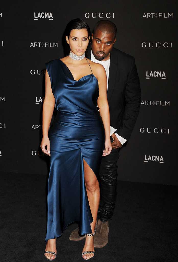 Kanye Stands Behind Kim's Look With Confidence