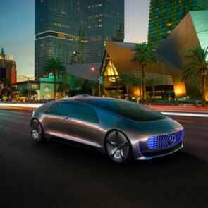 Mercedes-Benz Self-Driving Car Pictures