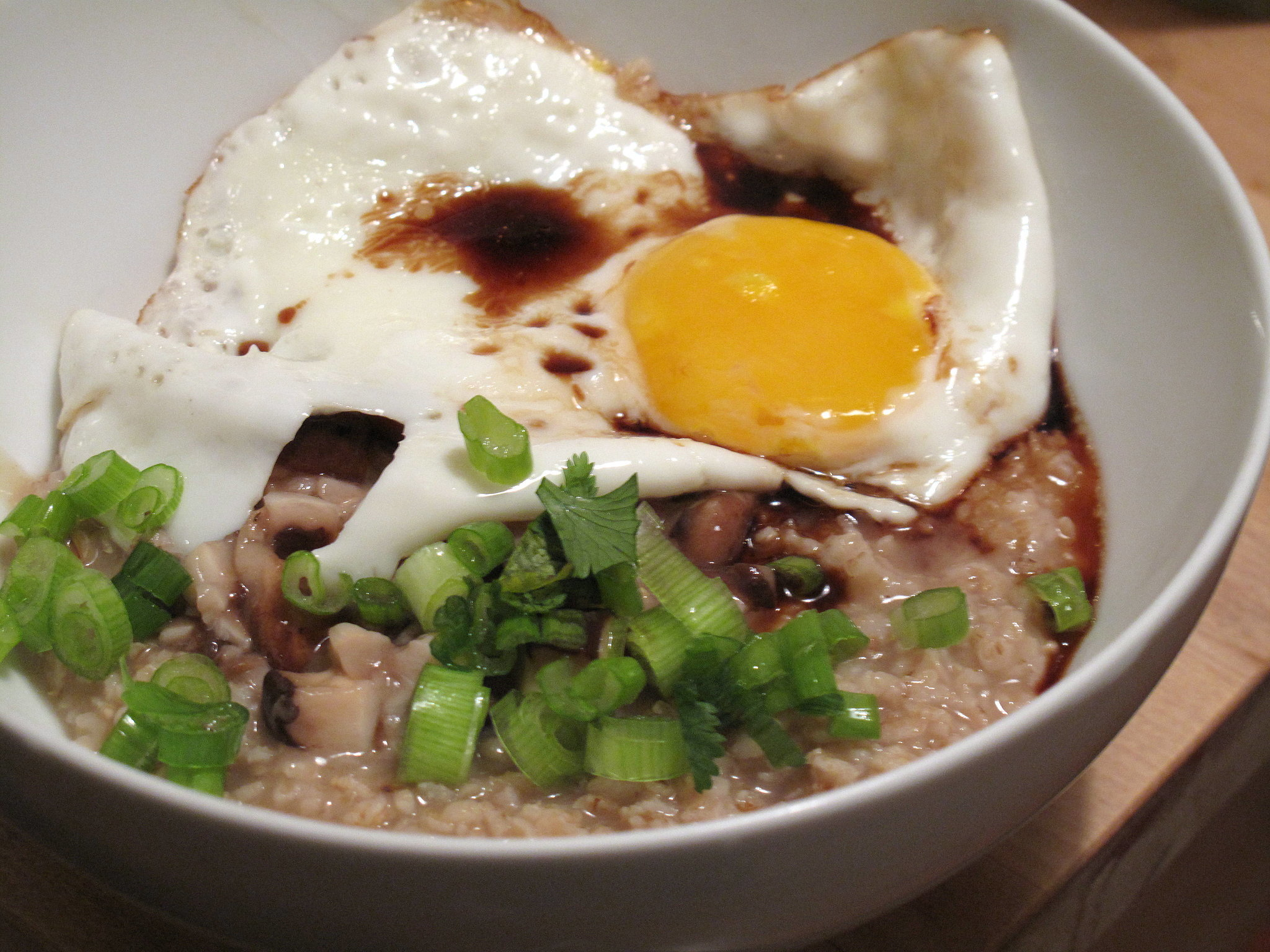 Asian-Inspired Savory Oatmeal
