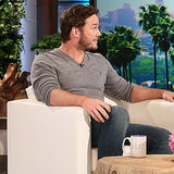 Chris Pratt on The Ellen DeGeneres Show January 2015 | Video