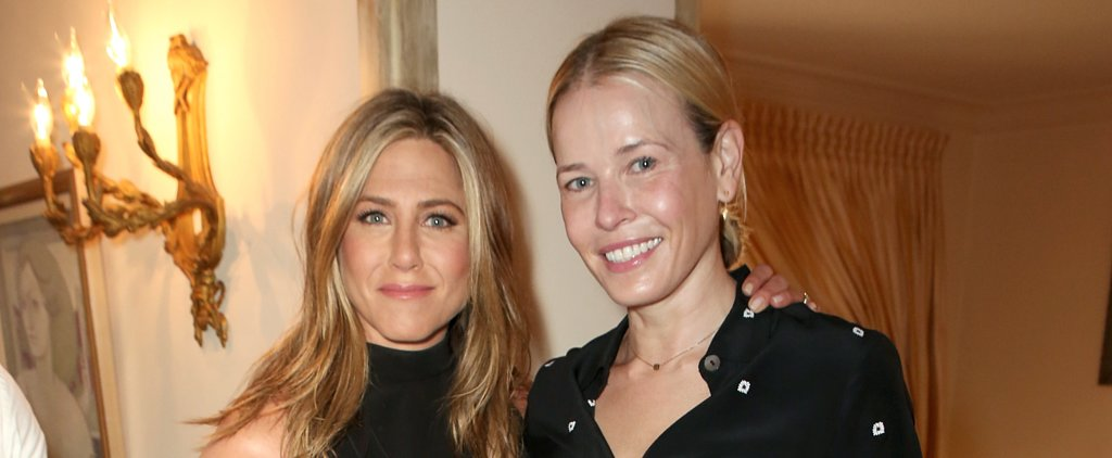 Jennifer Aniston Celebrates Her Success With Good Friends and a Sexy Fiancé