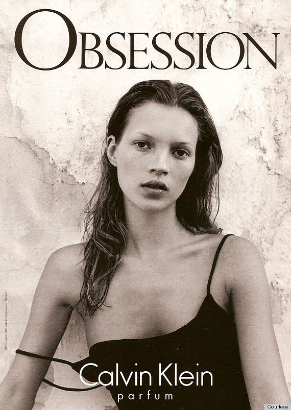 Kate Moss 1992 Campaign