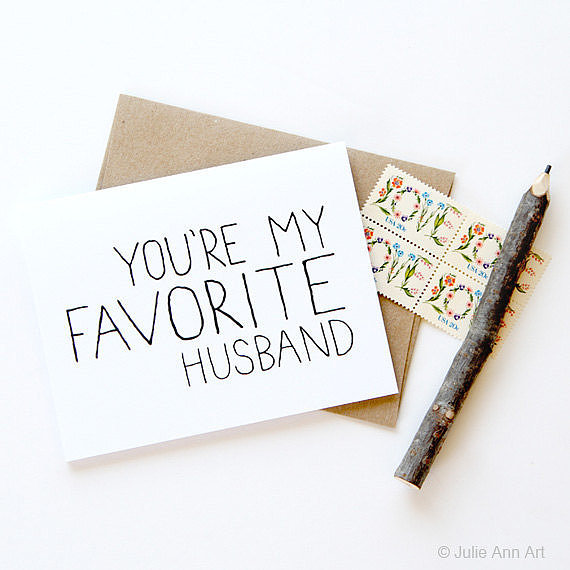 You're My Favorite Husband ($5)