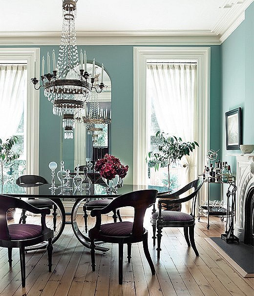 coastal blue dining rooms the hottest paint colors for every room in