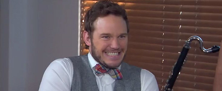 "Chris Pratt ""Accidentally"" Showed Up at Jimmy Kimmel Live"
