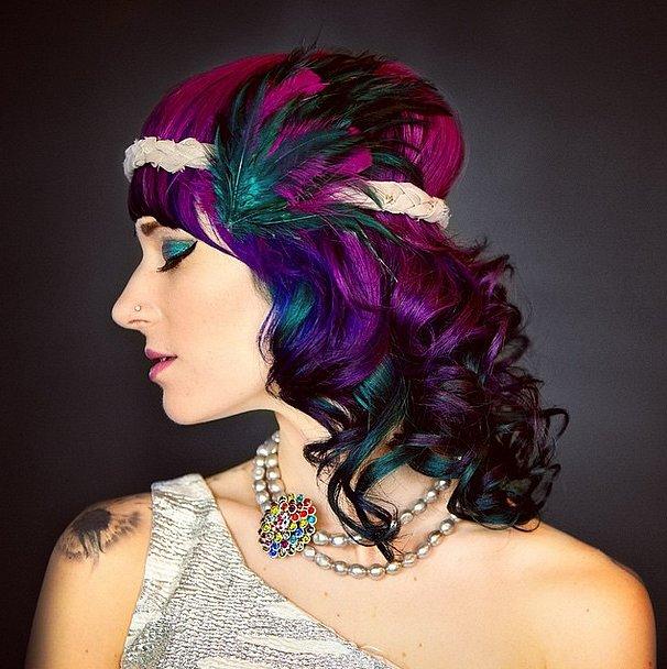 Rainbow Glam