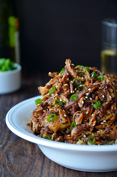 Slow-Cooker Honey Garlic Chicken