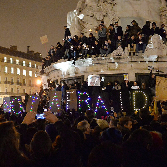 Tributes to Charlie Hebdo Victims in France Pictures