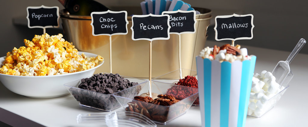 Set Up a Showstopping Popcorn Bar