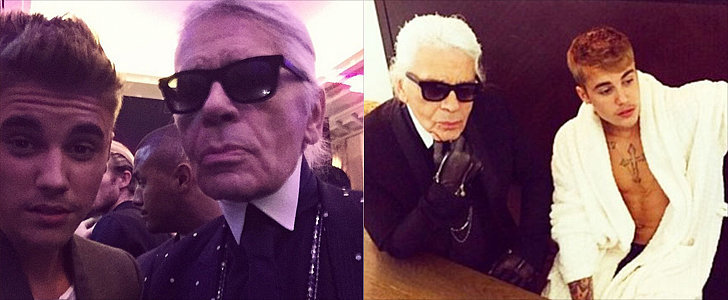 This Is Why Karl Lagerfeld Hung Out With Justin Bieber