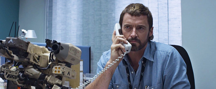 Hugh Jackman Shows His Dark Side in the Chappie Trailer