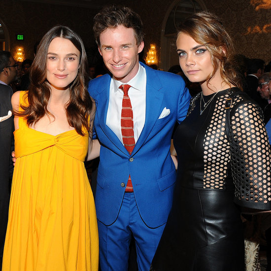 Celebrities at 2015 BAFTA Awards Season Tea Party Pictures