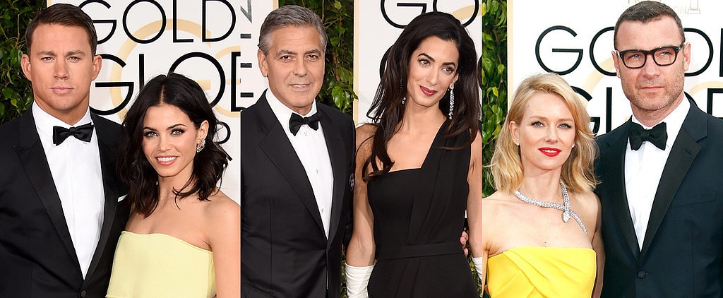 Hollywood's Hottest Couples Take Over the Globes Red Carpet