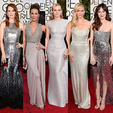 Poll: Whose Golden Globes Metallics Outshined the Rest?