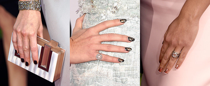 Zoom In on the Chicest Manicures From the Oscars Red Carpet