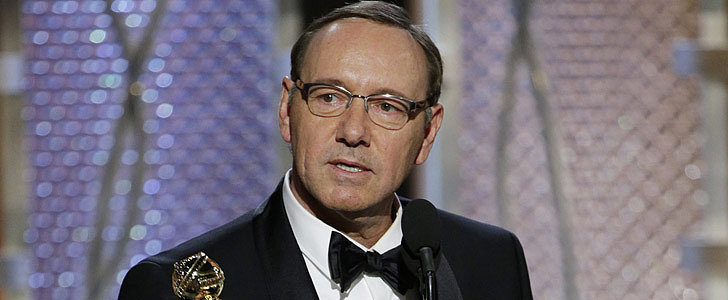 Yep, Kevin Spacey Dropped the F-Bomb at the Golden Globes