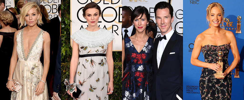 See All the Brits at the 2015 Golden Globes!
