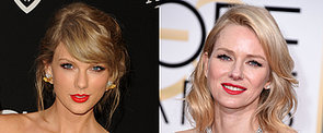 Poll: Taylor Swift and Naomi Watts Were Twinning in Red and Yellow