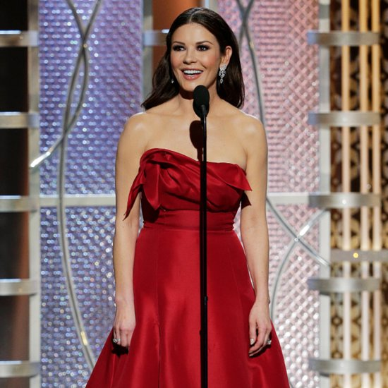 Catherine Zeta-Jones Emoji Dress