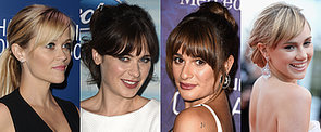 How to Make the Most of Your Fringe When You Wear Your Hair Up