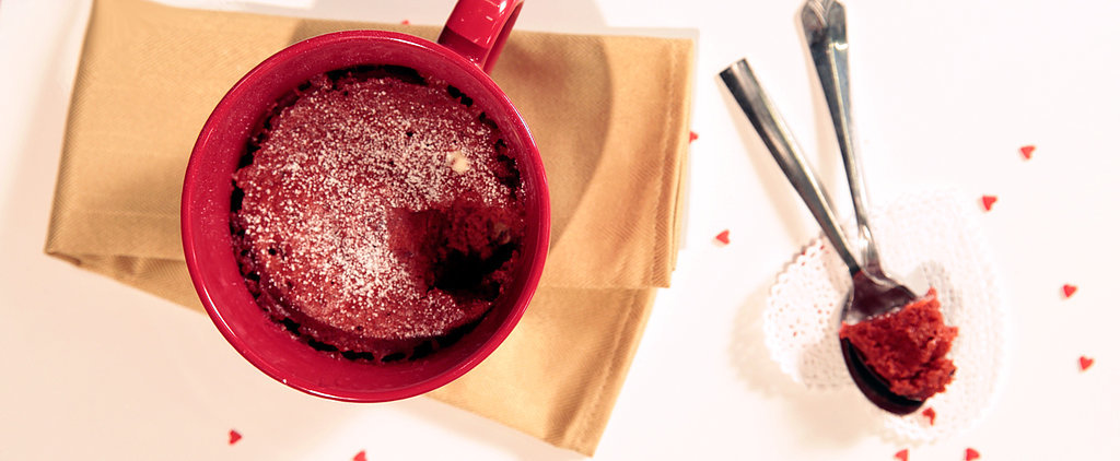 Crave-Worthy Red Velvet Microwave Mug Cake For 2