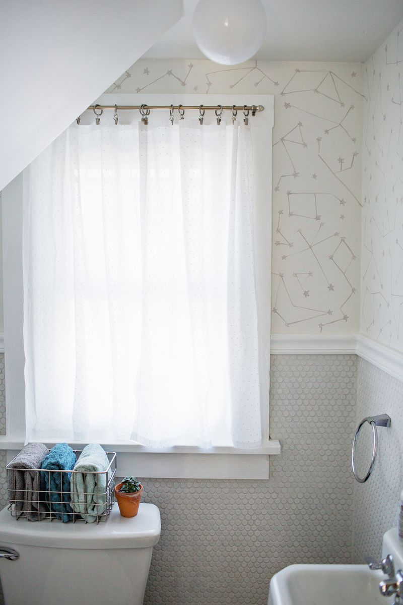 Bathroom Curtains curtains for a small bathroom window