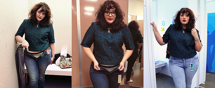 1 Woman Tried On 10 Different Pairs of Size 16 Jeans, and This Is What They Looked Like