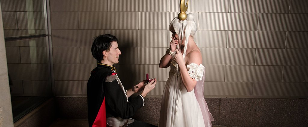 A Sailor Moon Proposal Worthy of Geek Love