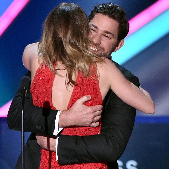 John Krasinski and Emily Blunt Critics' Choice Awards 2015