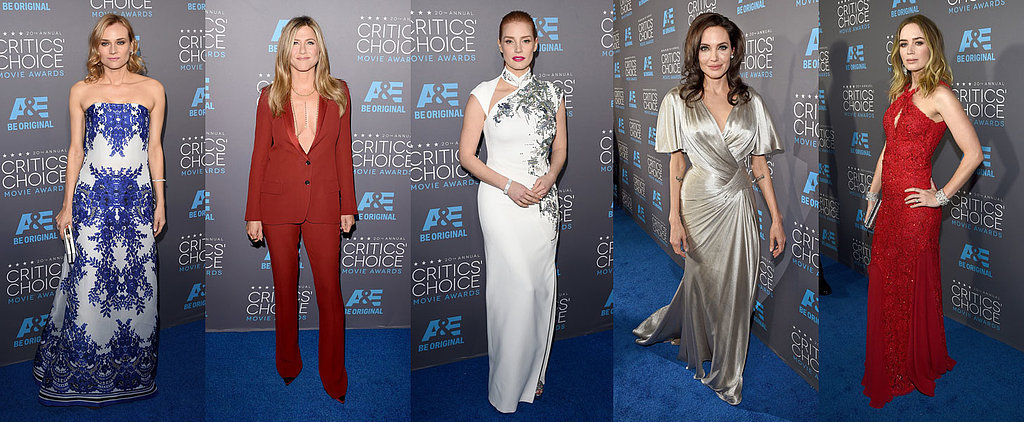Vote For Your Critics' Choice Awards Best Dressed!