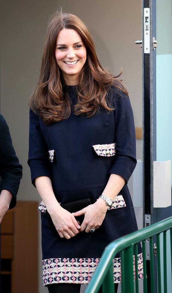 Kate Middleton Dress At Barlby Primary School 2015 Popsugar Fashion