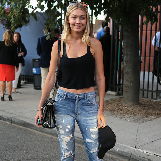 Stars in Distressed Denim