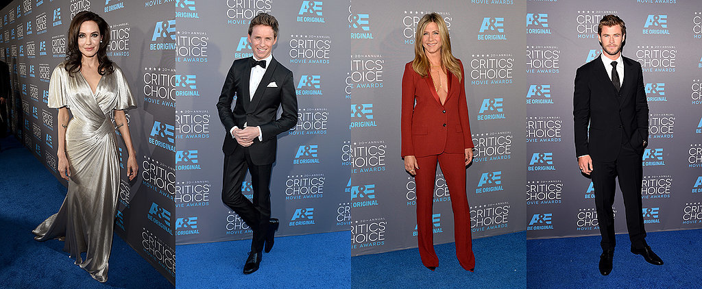 Hollywood's Hottest Stars Heat Up the Critics' Choice Movie Awards Red Carpet