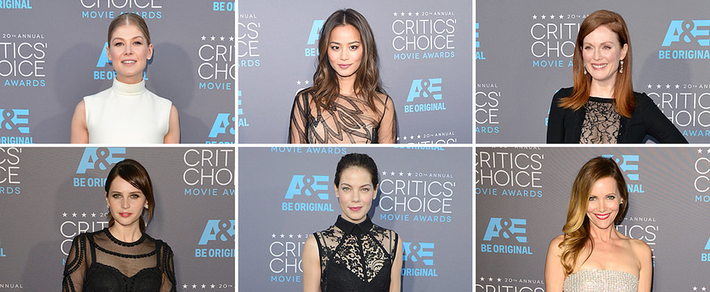 Tell Us: Which Critics' Choice Dress Was Sheer Perfection?