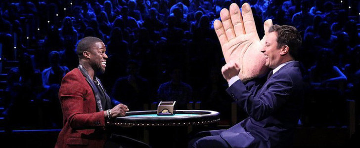 Kevin Hart Playing Slapjack With Jimmy Fallon Is Even Funnier Than It Sounds