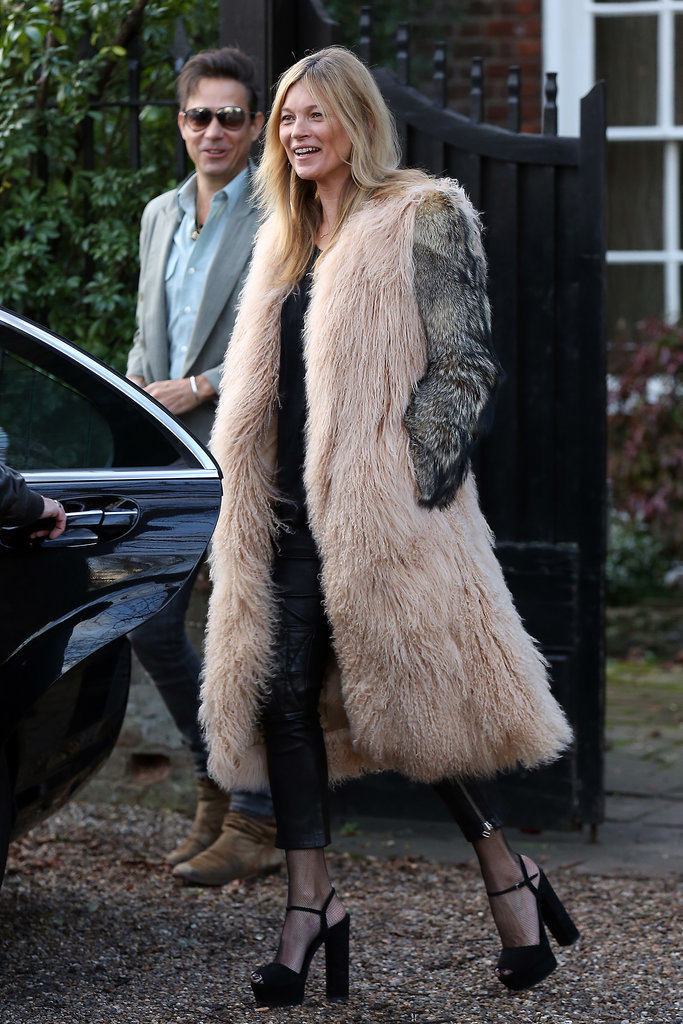 Really, just when we thought Kate Moss couldn't get any more fashionable, she proved us wrong.