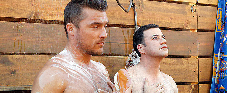 Get a Sneak Peek at Jimmy Kimmel and Chris Soules's Steamy Shower