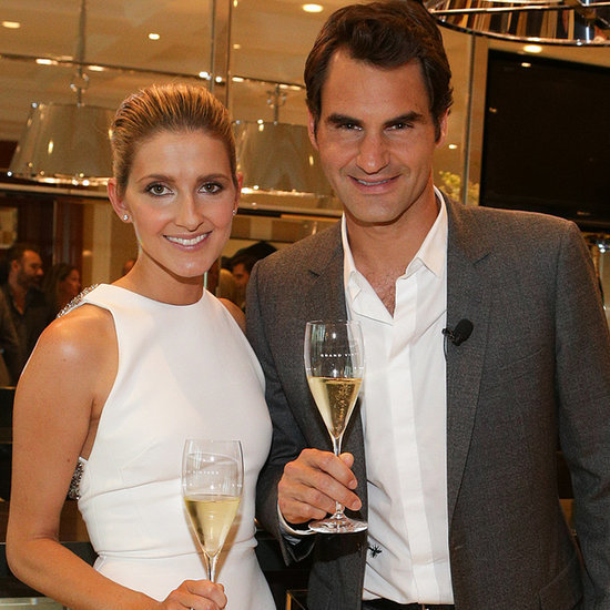 Australian Celebs at Roger Federer Moët & Chandon Event