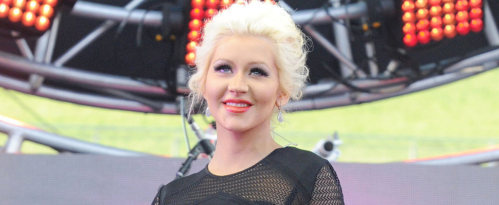 Christina Aguilera Shares the First Picture of Her Baby Girl!