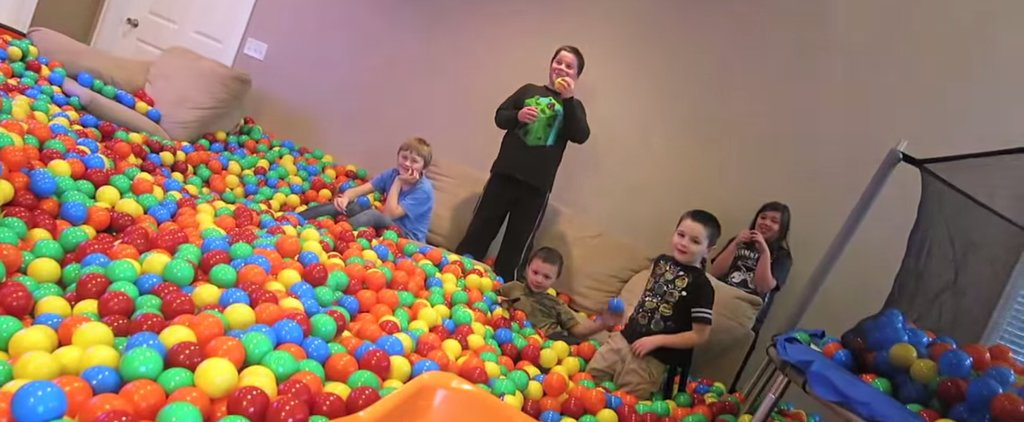 This Dad's Prank Is Every Kid's Dream Come True