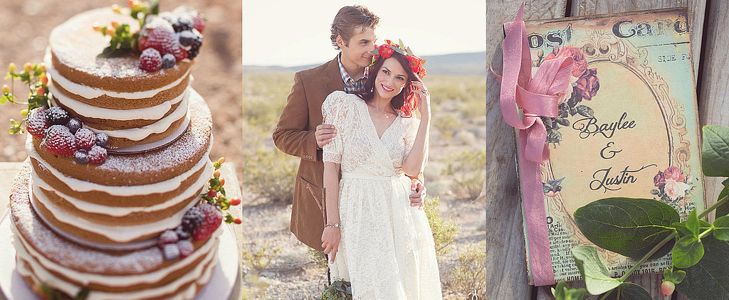 This Desert Wedding Shoot Is Like Something Out of a Mirage