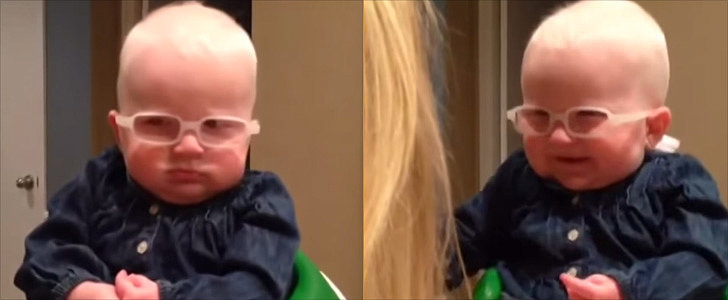 This Baby's Reaction to Seeing Her Mom For the First Time Will Melt Your Heart