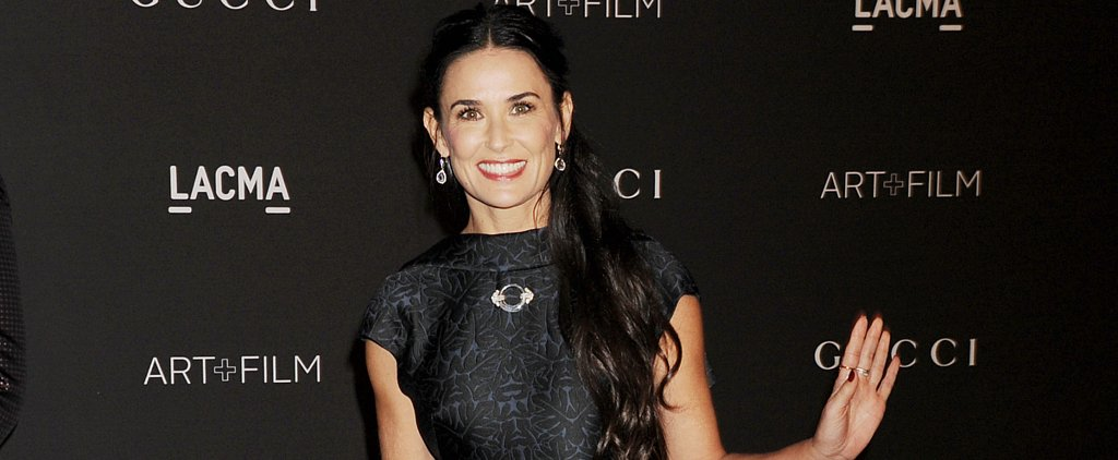 Demi Moore Channels Her Inner G.I. Jane